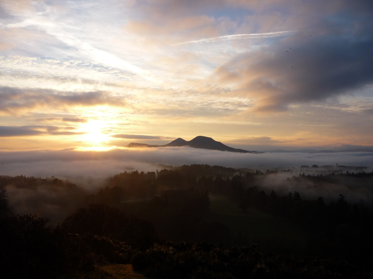 Eildon Hills near Melrose, Scotland (c) TJTWilliams