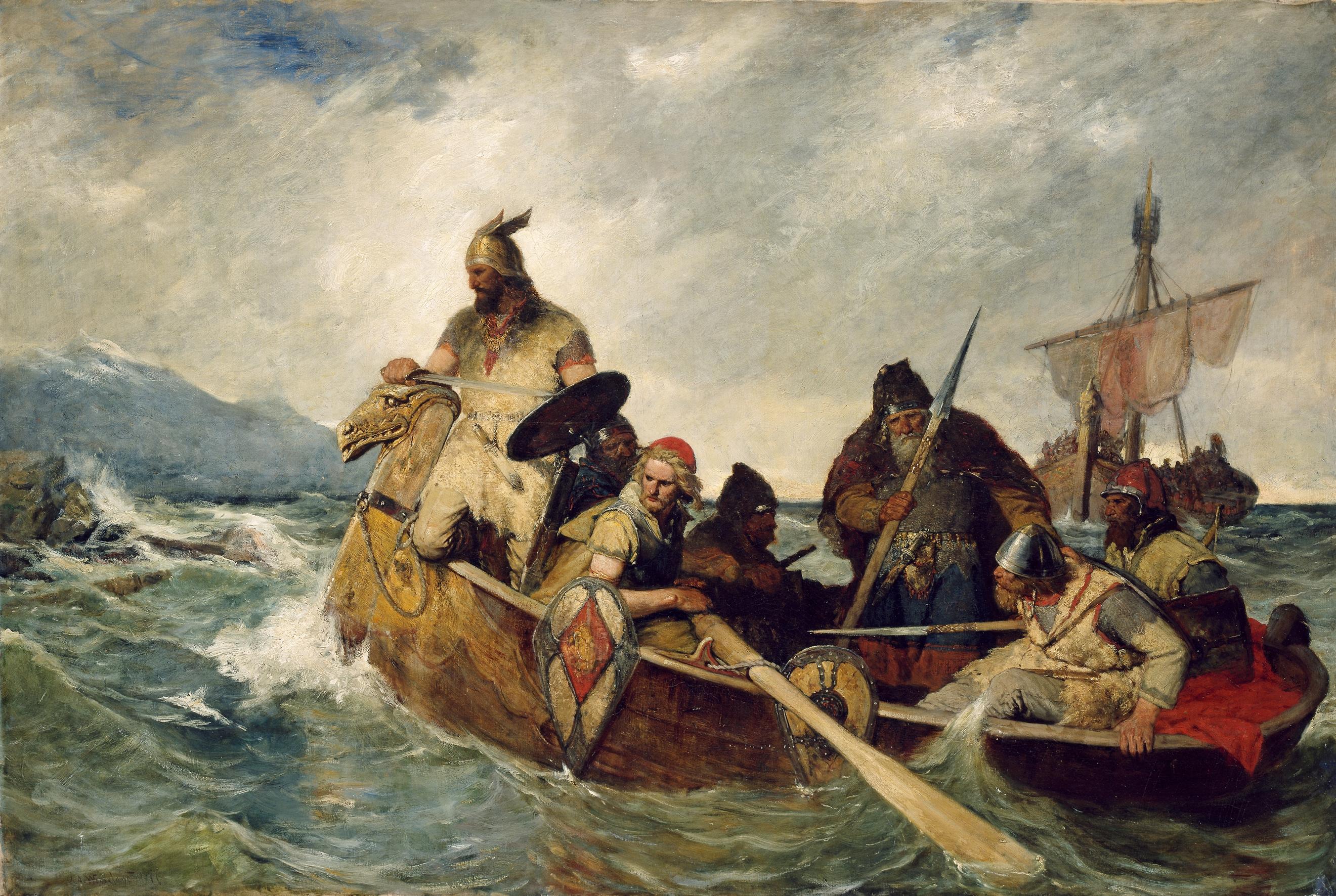 NOR Nordmennene lander på Island år 872